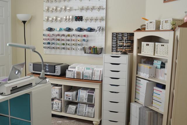 Paper Craft Storage In Ikea Shelving Stamp N Storage