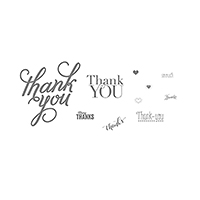 Another Thank You Stamp Brush Set - Digital Download