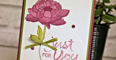 Just for You card using You've Got This stamp set from Stampin' Up! | VIDEO