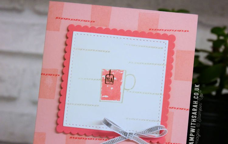 A Mug of Tea using the Hug in a Mug stamp set from Stampin' Up! | VIDEO