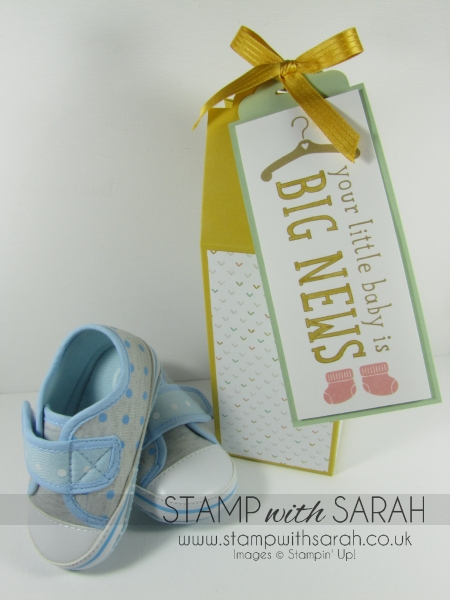 Cute Baby Box in Hello Honey