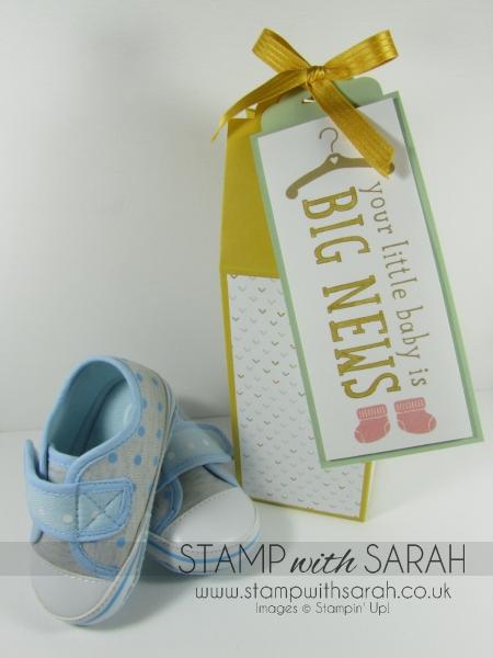 Cute Baby Box in Hello Honey