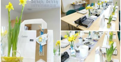 Exciting Crafternoon Tea Event at the Weekend
