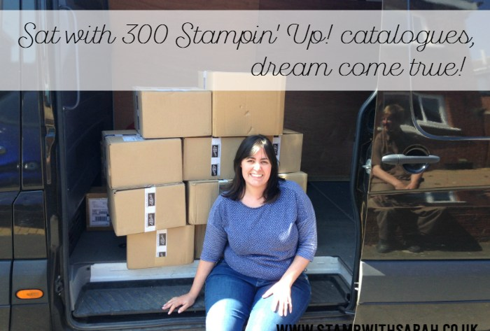 Mass Stampin' Up! Catalogue mail out!