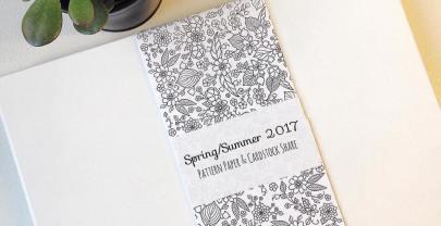 Spring/Summer 2017 Paper & Cardstock Shares