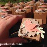 Stamp with Sarah Berry Stampin Up! UK Bird Box Swaps Craft Weekend