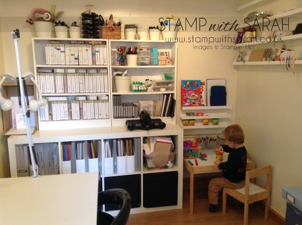 Stampin' Up! Craft Room-Office 9