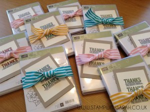 Stampin Up UK Stamp with Sarah Berry Monthly Hostess Code Gifts Group