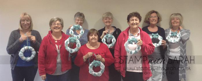 Stampin' Up! Retreat Wreath Ladies