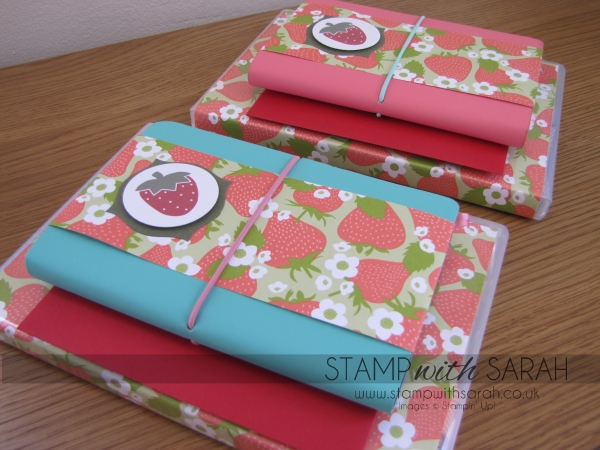 Strawberry Stampers Welcome Gift