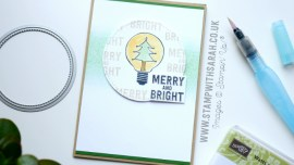 Watts of Occasions Christmas Card by Sarah Berry Stampin' Up! UK Demonstrator