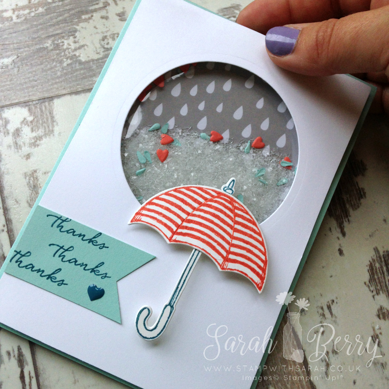 Weather Together shaker card for Hello! Stampin' Up! Annual Catalogue Week 3, a new hop every Friday!