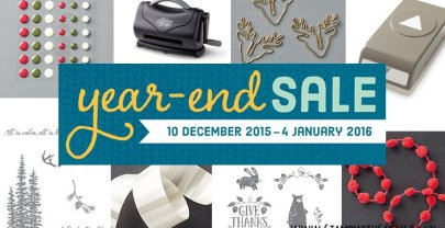 Amazing Stampin' Up! Year-End Sale!