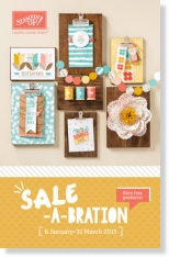 Stamp with Sarah Berry Stampin' Up! UK Saleabration 2015 Brochure