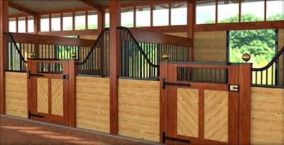 Fancy stalls for my fancy ponies!