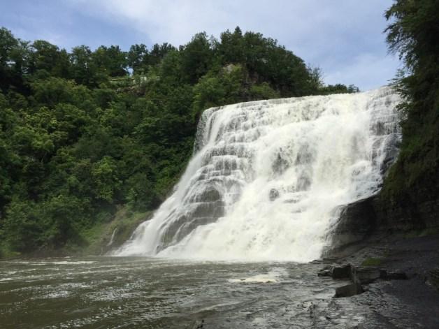 Falls in Ithaca, NY