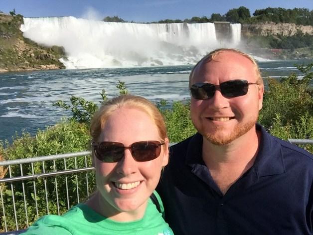 Selfie with American Niagara Falls