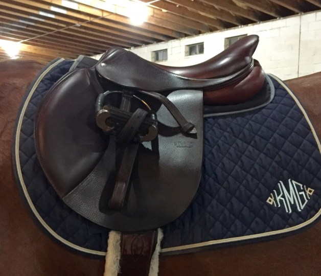 Pad fits nicely under my saddle