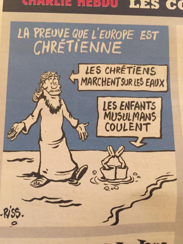 Alan Kurdi Cartoon 2