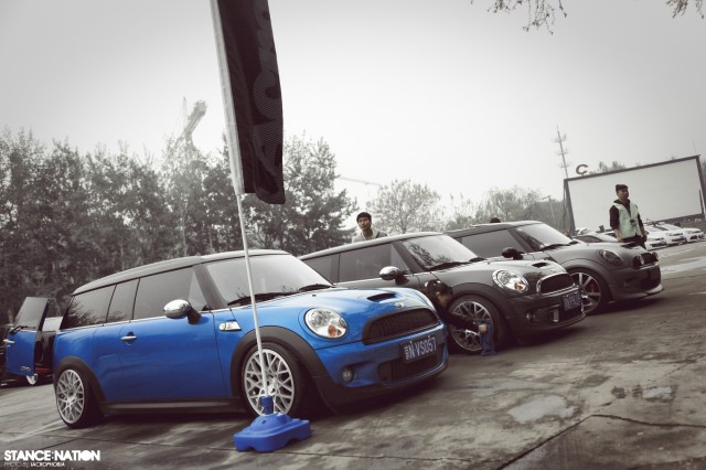 Aggressive Fitment China Stanced Car Event (16)