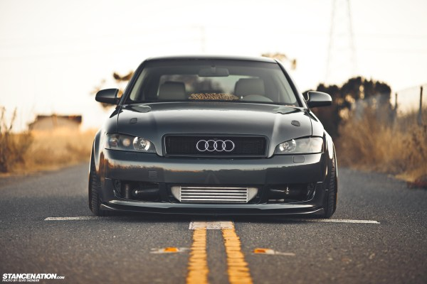 Gold Status Josh' Fitted Audi A4. Stancenation