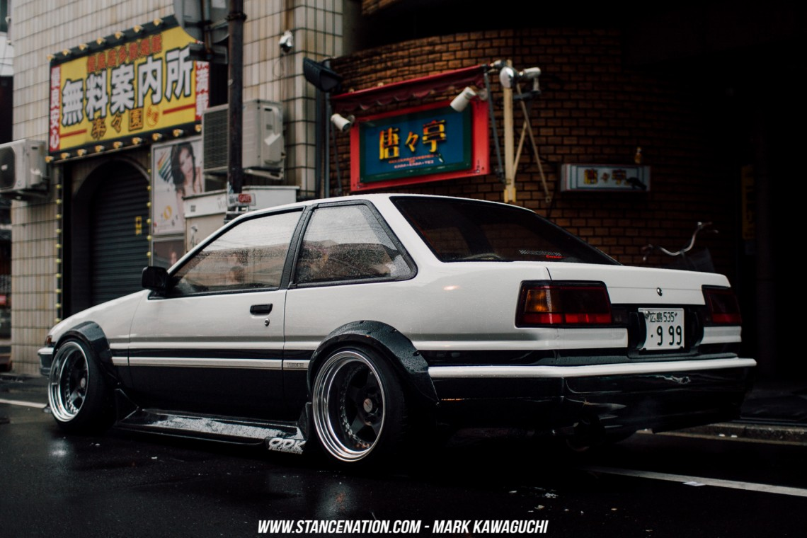 Old School Perfection  Takanobus Toyota Sprinter Trueno