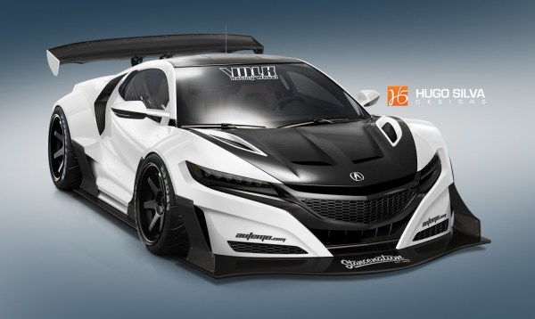 Custom 2016 Acura Nsx. Stancenation Form Function
