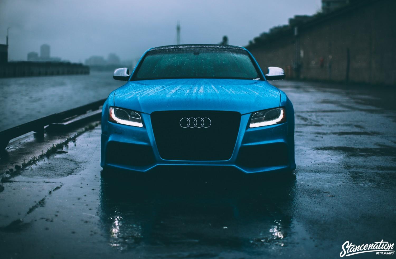Slammed Audi-8