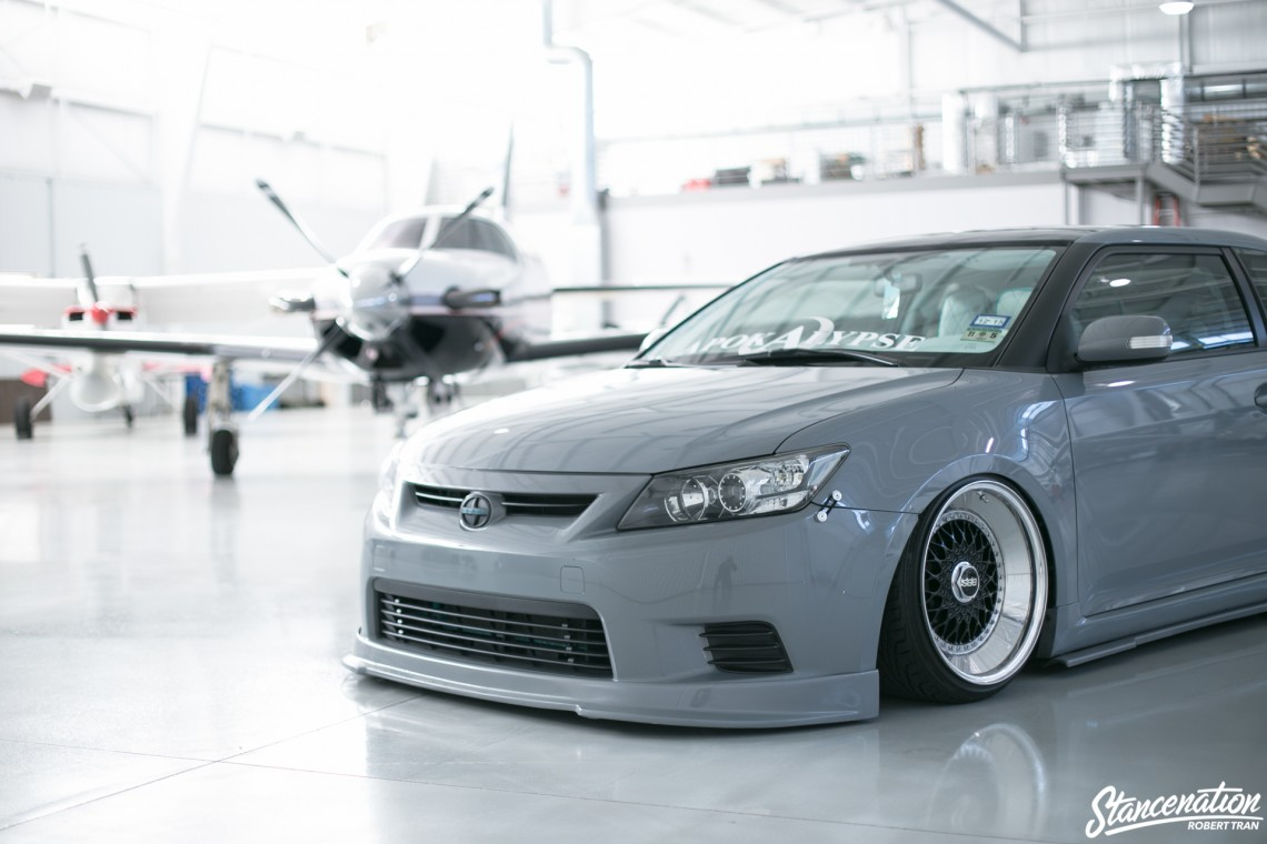 Slammed Scion tC-1