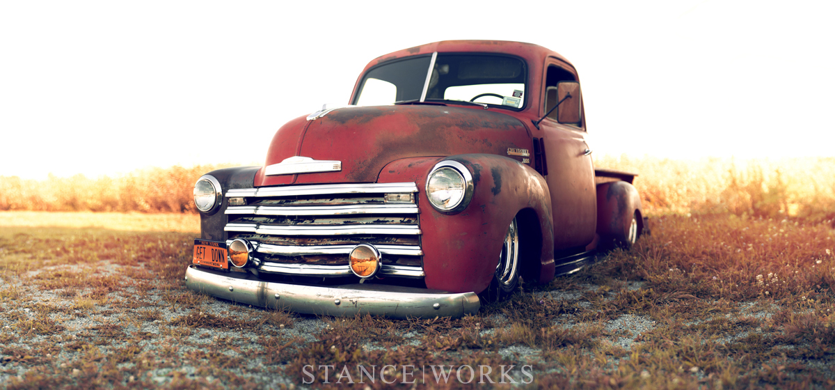 50s Car Wallpapers Iphone Stance Works Larry Fitzgerald S 1949 Chevy 3100 Pickup