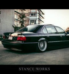 saying our farewells the stanceworks project 2000 e38 bmw 740il looks for a new home [ 1200 x 800 Pixel ]