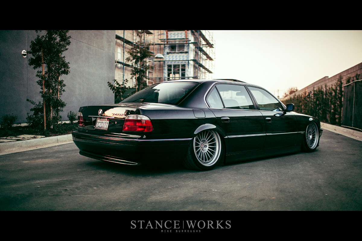 hight resolution of saying our farewells the stanceworks project 2000 e38 bmw 740il looks for a new home