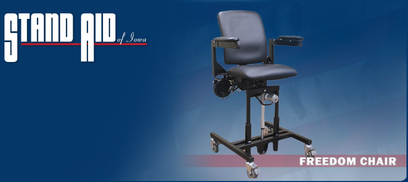 chair stand power pier one chairs on sale standing frames wheelchair attachments and toilet freedom from aid