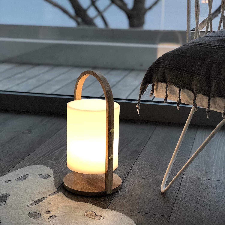 WOODY Lampe mobile
