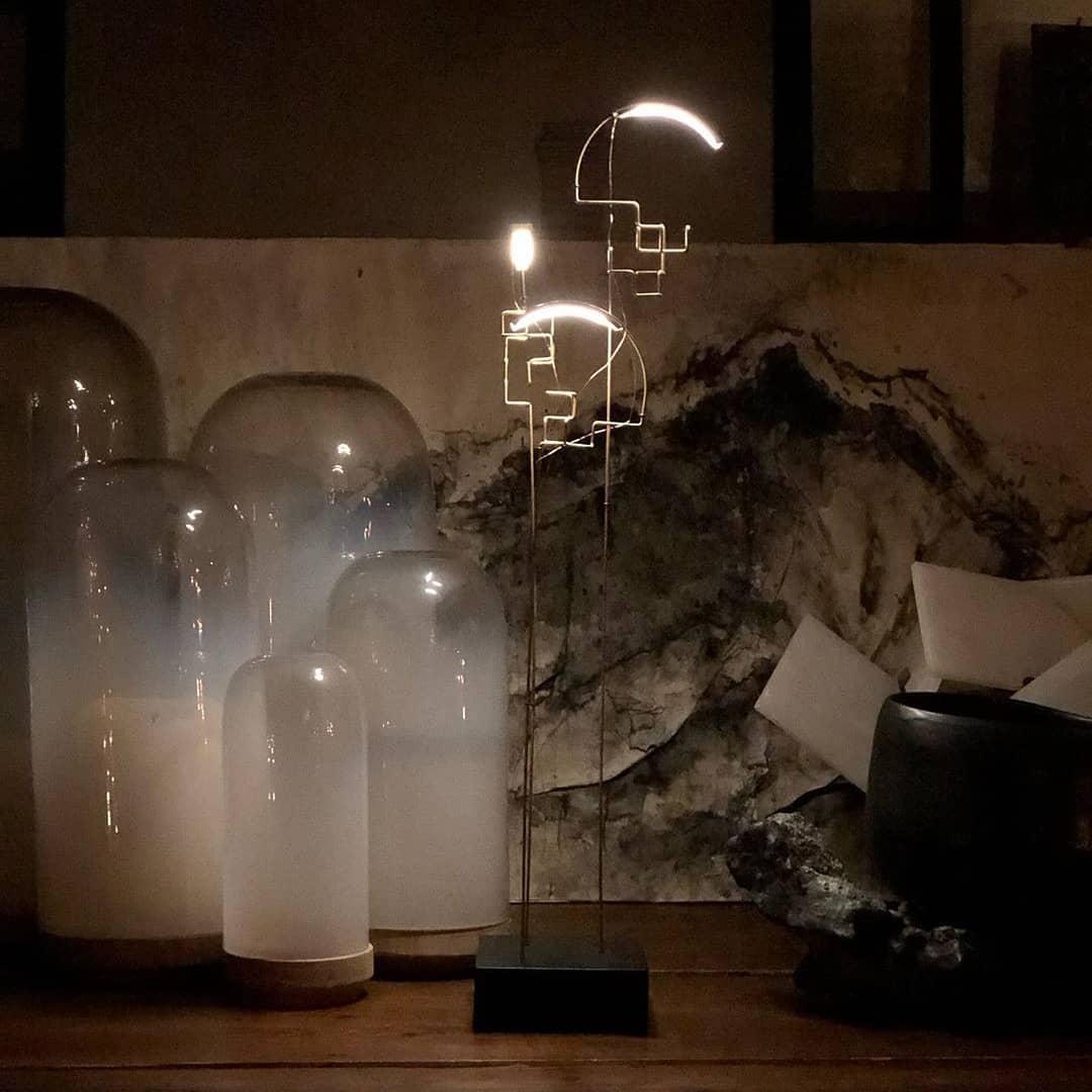 Lampe de table nomade