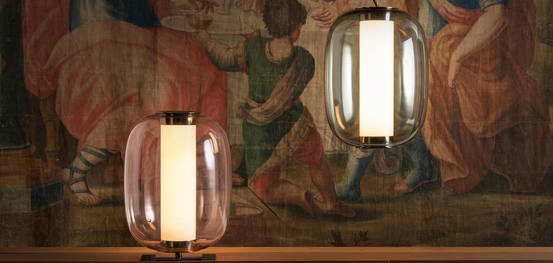 MERIDIANO Suspension et lampe à poser