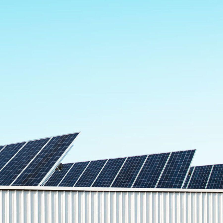 Panneaux solaires usine PANZERI
