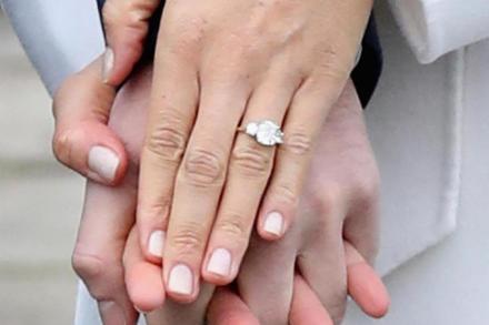 Image result for meghan markle engagement ring