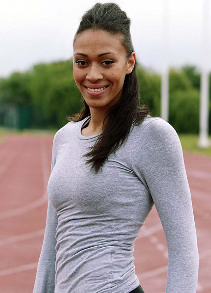 Linford Christies niece on track for 2012 and Miss World