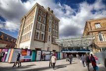 King' Cross Hotel Refit In Glass Of London