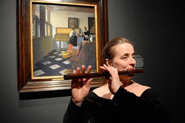 Musicians Create Mood Johannes Vermeer