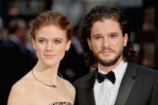 Image result for kit harington rose leslie
