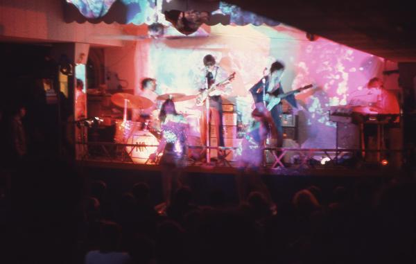 & Exhibition Recreate Pink Floyd' Early Basement Bar