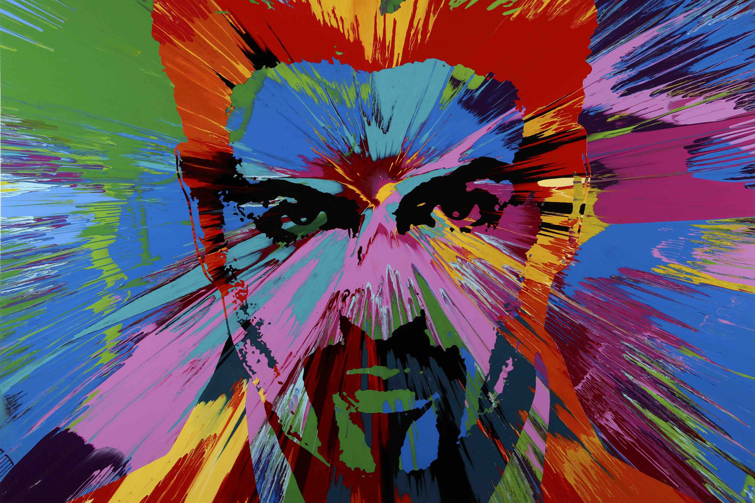 Damien Hirst painting of George Michael to go up for auction  London Evening Standard