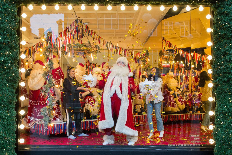 Selfridges Famous Christmas Window Displays Leave