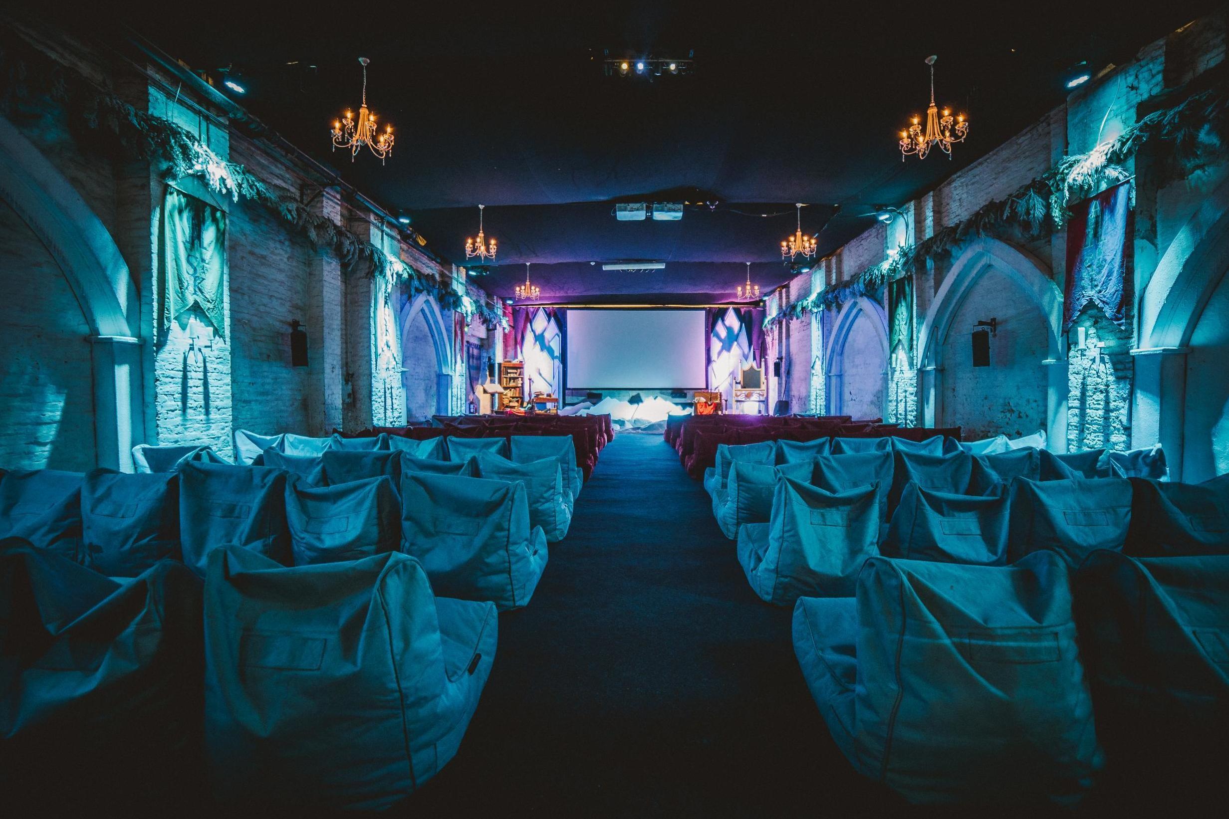 Backyard Cinemas festive Snow Kingdom launches in Borough  London Evening Standard