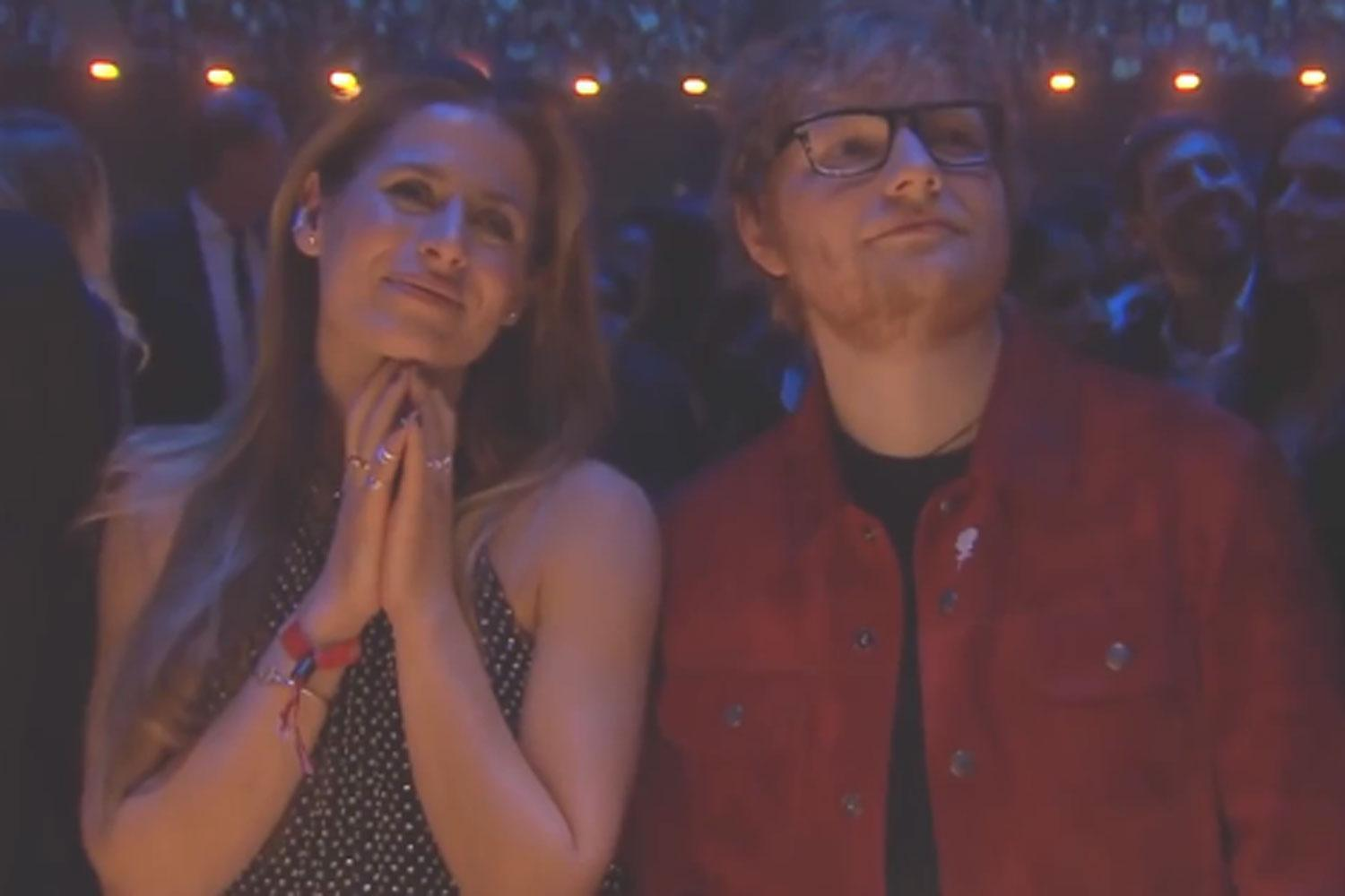 'I'm Wearing An Engagement Ring' Ed Sheeran Sets Cherry