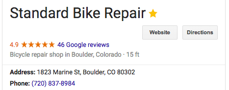 Bike Shop Google Rating has a tremendous effect on it's sustainability.