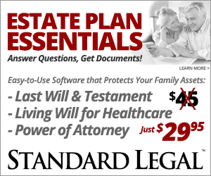 Standard Legal Estate Plan Essentials Software
