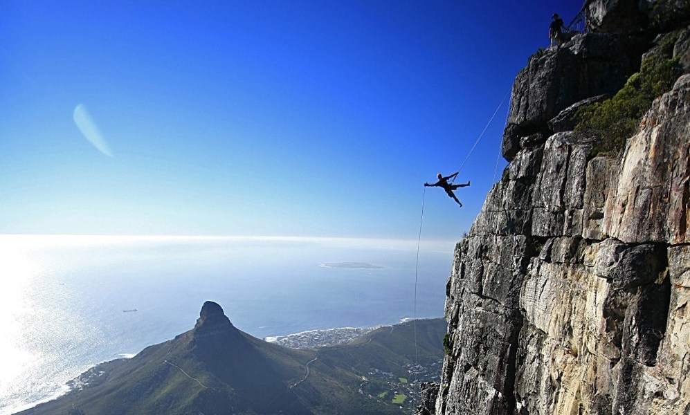 Extreme Sports Africa: Abseil Table Mountain